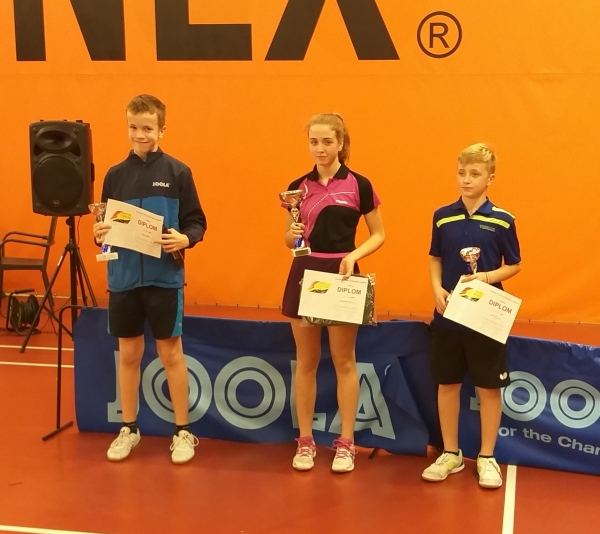 Adam Gräf na 2.místě v turnaji B staršího žactva