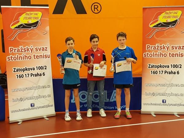 Honza Slavíček na 2.místě v turnaji B staršího žactva