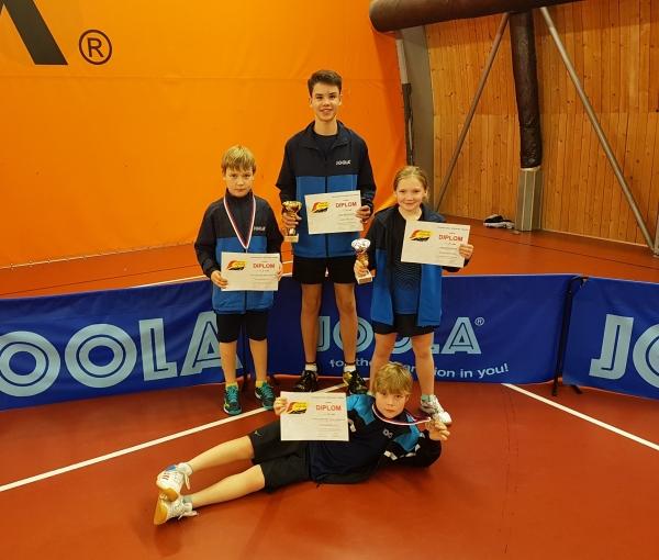 Medailisté na GP nejmladšího a staršího žactva