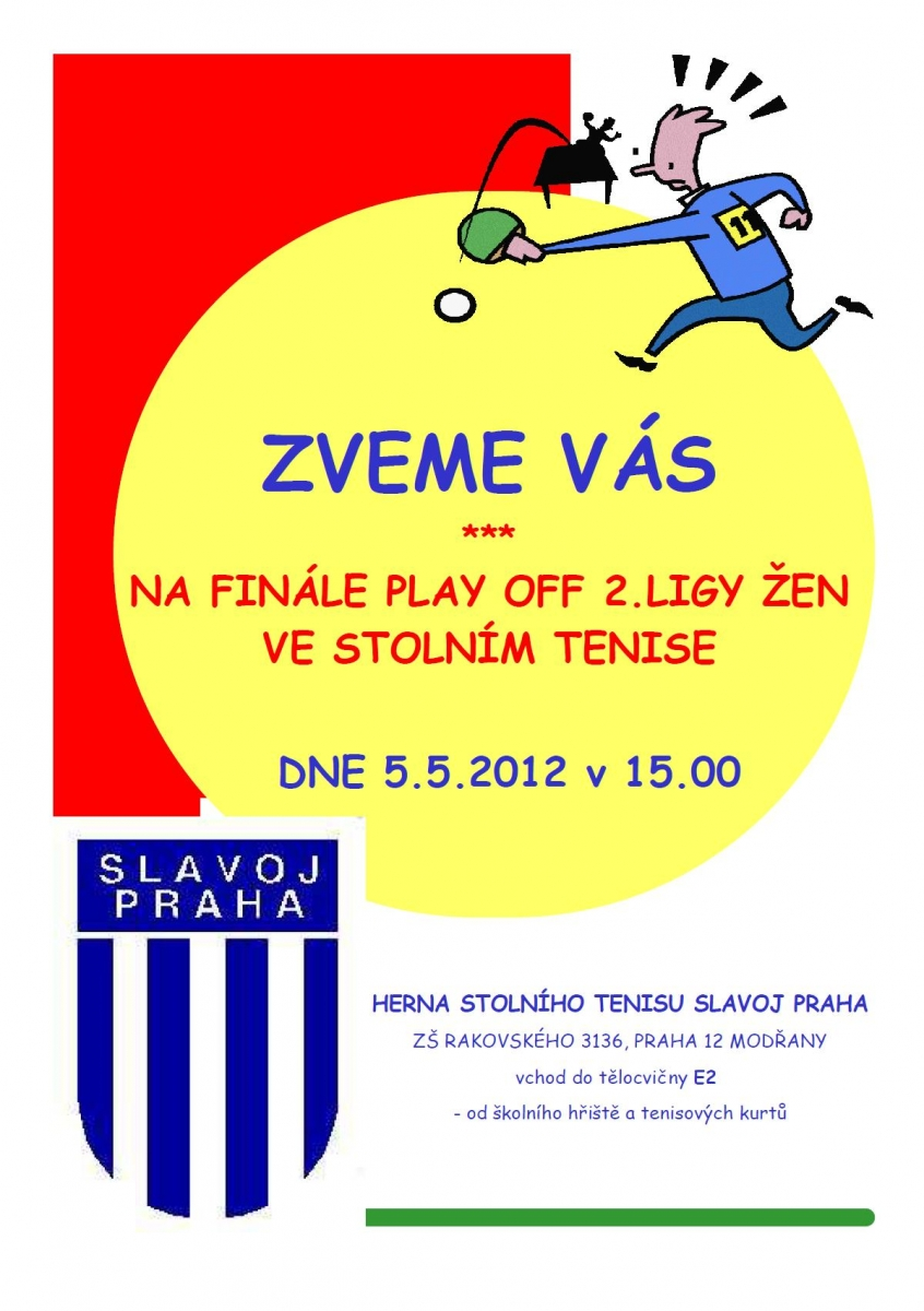 Slavoj Praha B - SF SKK El Niňo Praha A