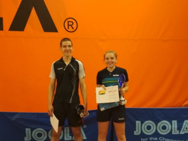 Verča Šimůnková na 1.místě v turnaji B dorostu